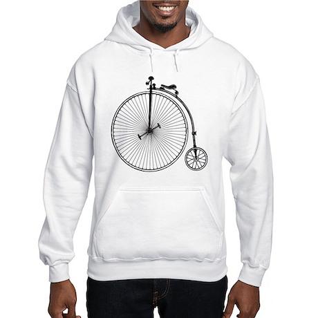 Vintage Bicycle Hooded Sweatshirt
