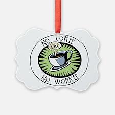No Coffee Ornament