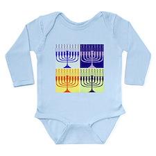 Hanukkah Gifts Long Sleeve Infant Bodysuit