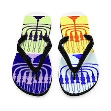 Hanukkah Gifts Flip Flops