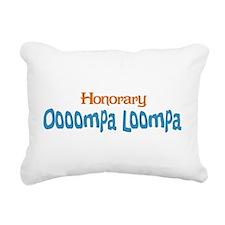 Honorary Oooompa Loompa Rectangular Canvas Pillow