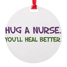 Hug a Nurse Ornament