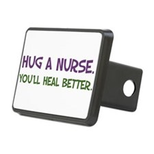 Hug a Nurse Hitch Cover