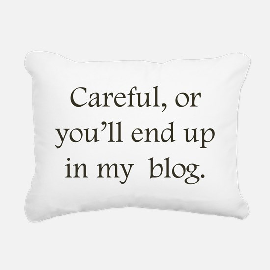 my Blog Rectangular Canvas Pillow