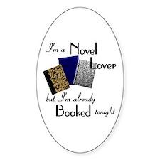 Novel Lover Oval Decal