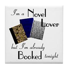 Novel Lover Tile Coaster