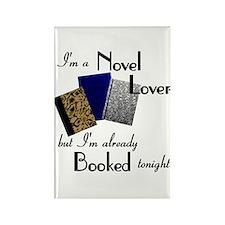 Novel Lover Rectangle Magnet