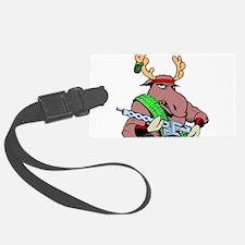 Combat Moose Luggage Tag