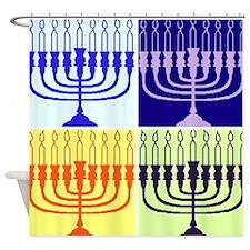 Hanukkah Gifts Shower Curtain