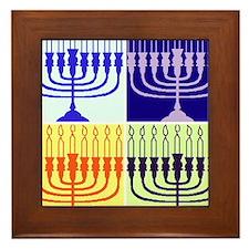 Hanukkah Gifts Framed Tile