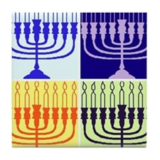 Hanukkah Gifts Tile Coaster