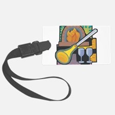 Glass Blowing Luggage Tag
