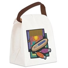 Weaving Canvas Lunch Bag