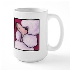 Poodle White Mug