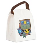 Jigsaw Puzzle Canvas Lunch Bag