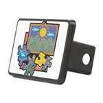 Jigsaw Puzzle Rectangular Hitch Cover