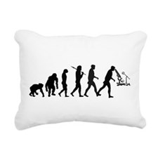 Scientist Lab Technician Rectangular Canvas Pillow