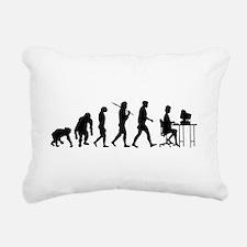 Software Programmer Rectangular Canvas Pillow
