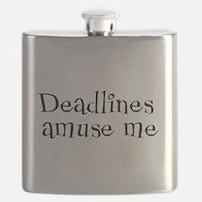 Deadlines Amuse Me Flask