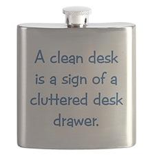 Clean Desk Flask