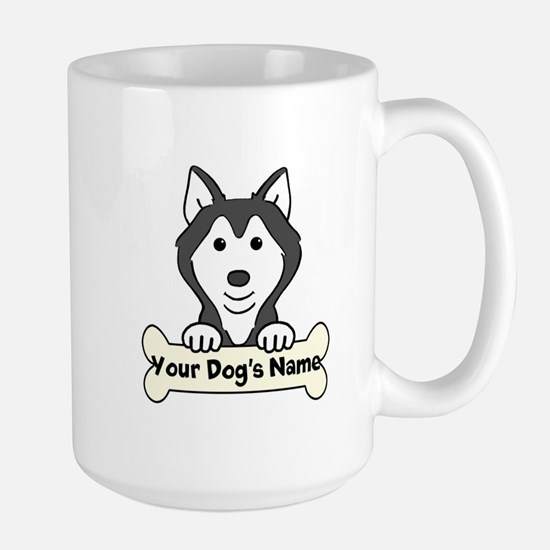 Personalized Husky Mugs