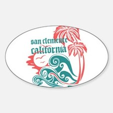 Wavefront San Clemente Decal