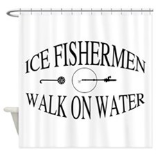 Walk on water Shower Curtain