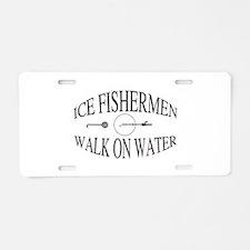 Walk on water Aluminum License Plate