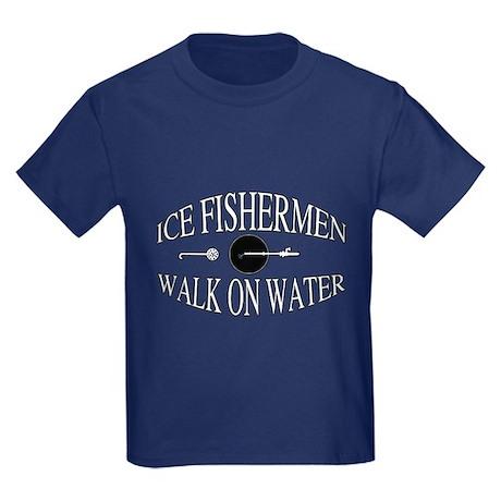 Walk on water Kids Dark T-Shirt
