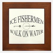Walk on water Framed Tile