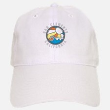 San Clemente Wave Badge Baseball Baseball Cap