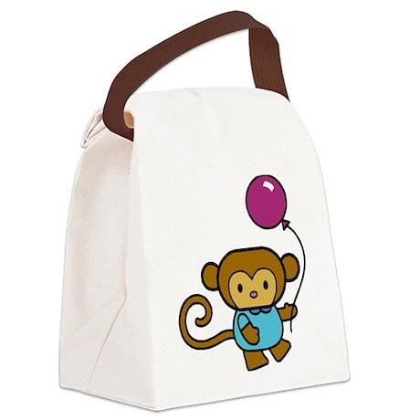 Bobo Monkey Canvas Lunch Bag