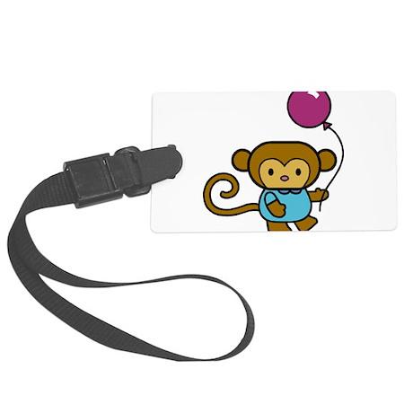 Bobo Monkey Large Luggage Tag