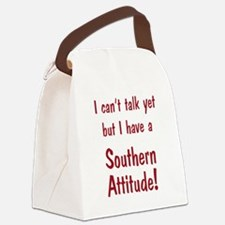 Southern Attitude Canvas Lunch Bag