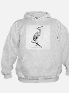 Great Blue Heron Hoodie