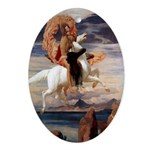 Pegasus & Perseus Oval Ornament