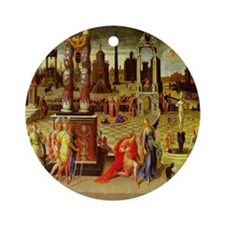 Augustus & The Sibyl Ornament (Round)