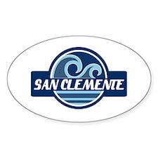 San Clemente Surfer Pride Decal