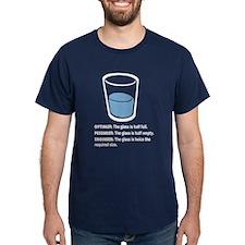 Optimist/Pessimist/Engineer T-Shirt