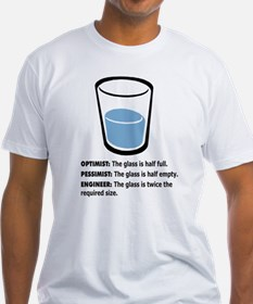 Optimist/Pessimist/Engineer Shirt