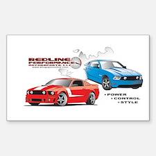 Mustang Burnout final.jpg Decal