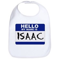 Hello My Name Is Isaac - Bib