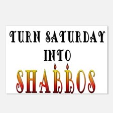 Saturday turns into Shabbas Postcards (Package of