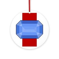 Midrealm Saphire medallion