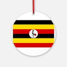 Uganda - National Flag - Current Round Ornament