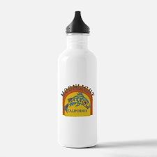 Moonlight Beach Sunset Fish Water Bottle