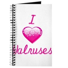 I Love/Heart Walruses Journal