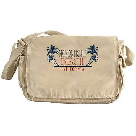 Moonlight Beach Regal Messenger Bag