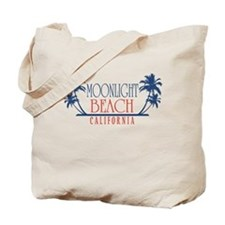 Moonlight Beach Regal Tote Bag