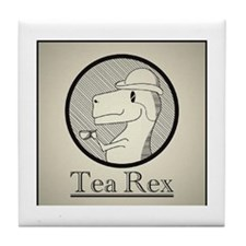 Tea Rex Tile Coaster